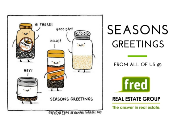 Happy Holidays from Fred Real Estate Group 2014