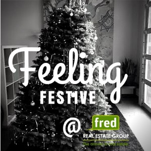 feeling festive at Fred Real Estate Group