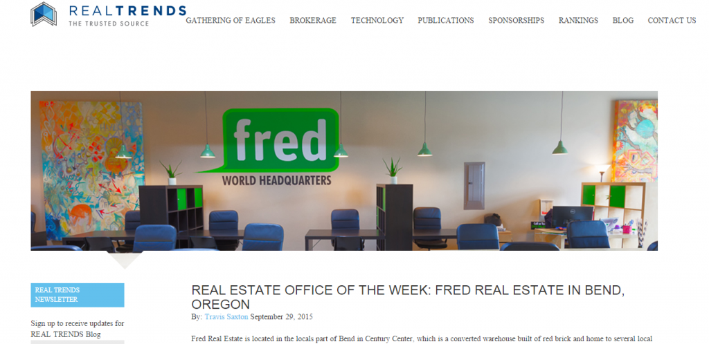 real trends office of the week