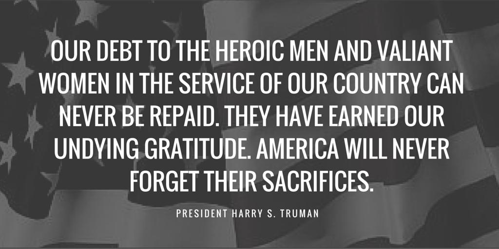 TW veterans day quote