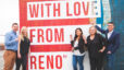 We Support Local with love from Reno mural