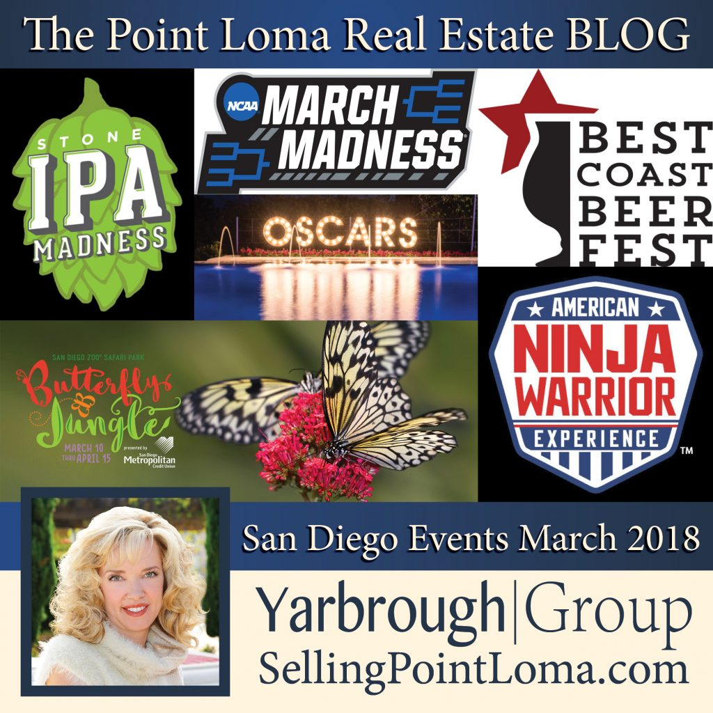 San Diego Events March 2018