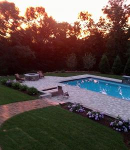 Fabulous heated pool and spa