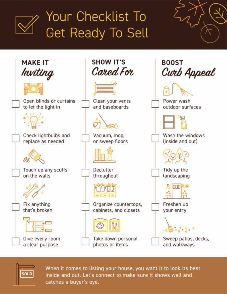 Team Provancher Your Checklist To Get Ready To Sell