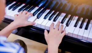 Take music lessons on Palmdale West property.