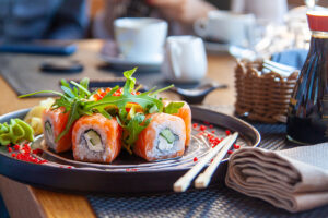 Acton property owners eat at Miso Sushi