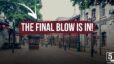 The final blow is in