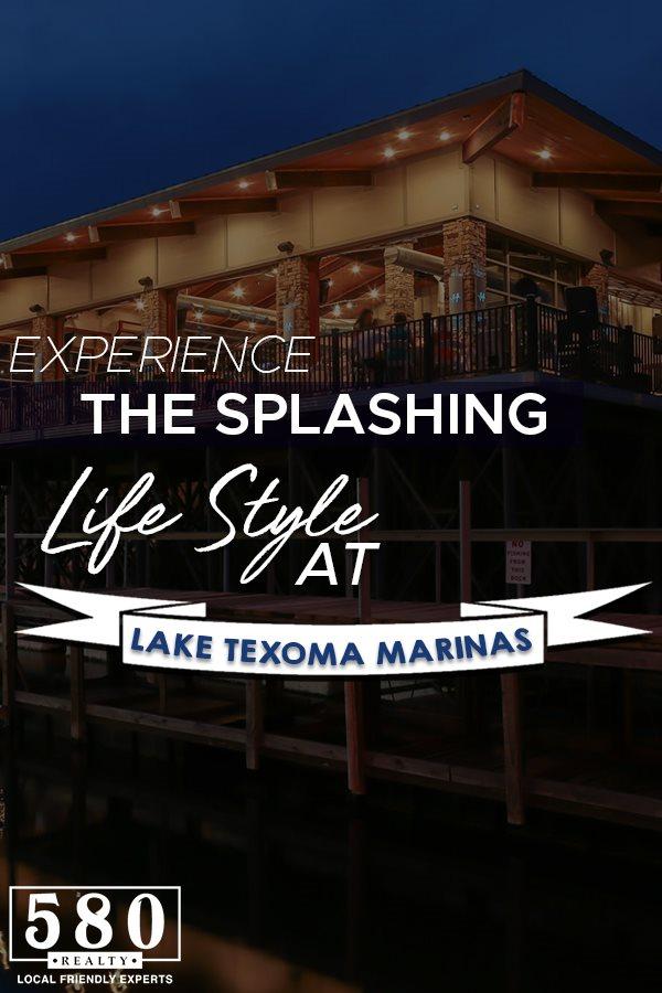 Experience the Splashing Lifestyle at Lake Texoma Marinas