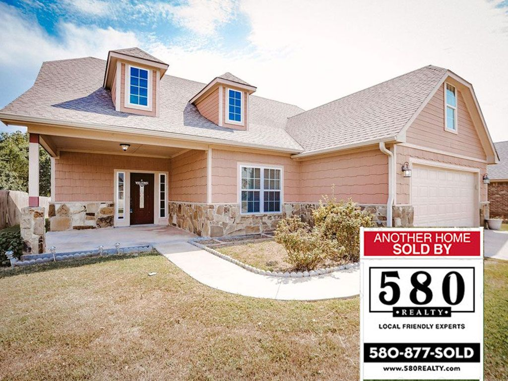 SOLD - 3509 Heritage Drive Durant OK 74701