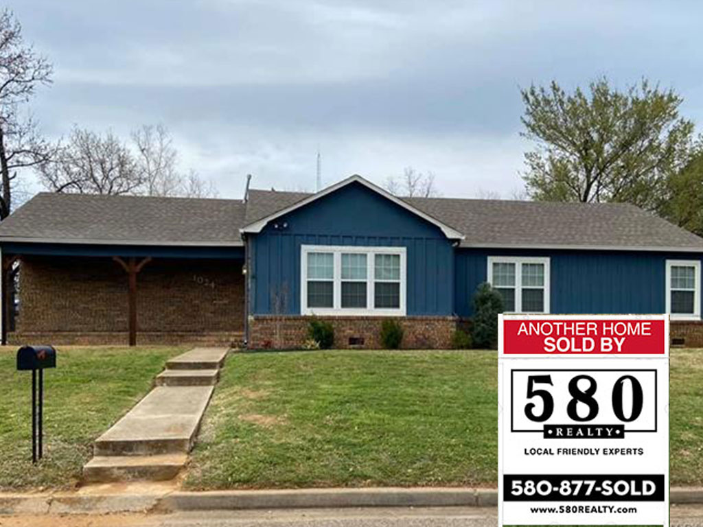 SOLD - 1024 W Willow Street Durant OK 74701