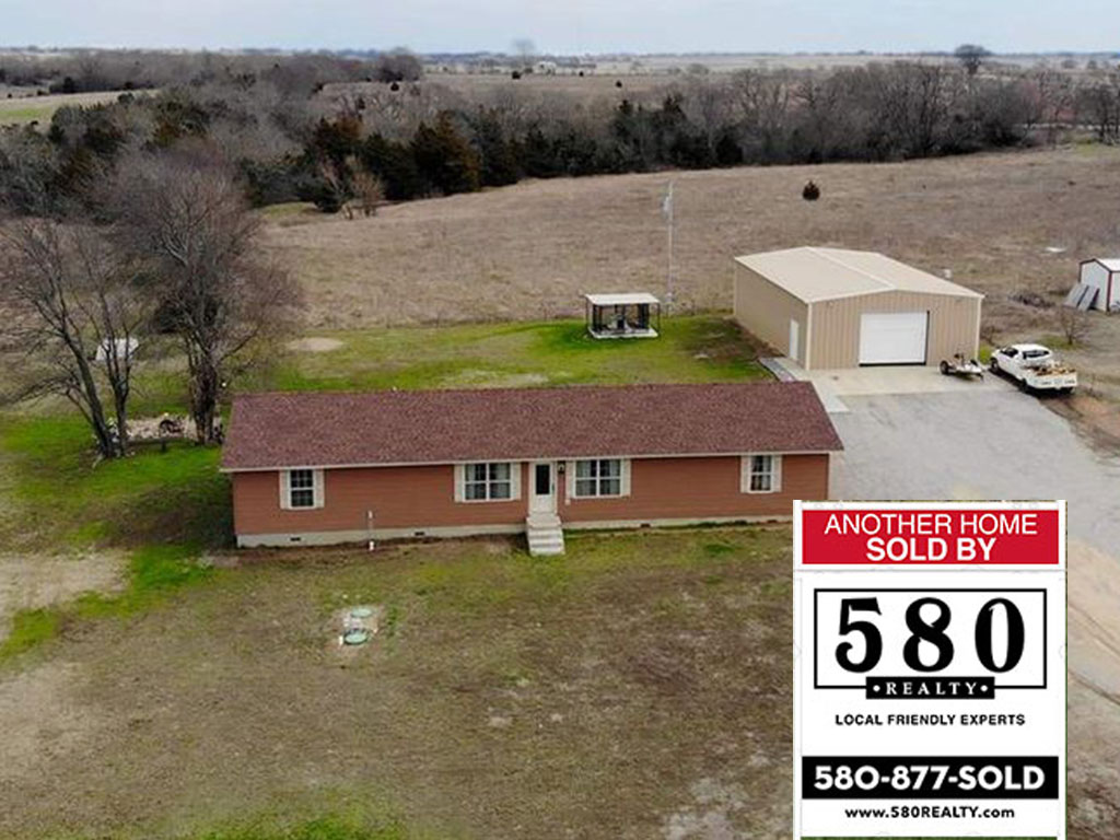 SOLD - 16700 Shebester Rd Madill OK 73446