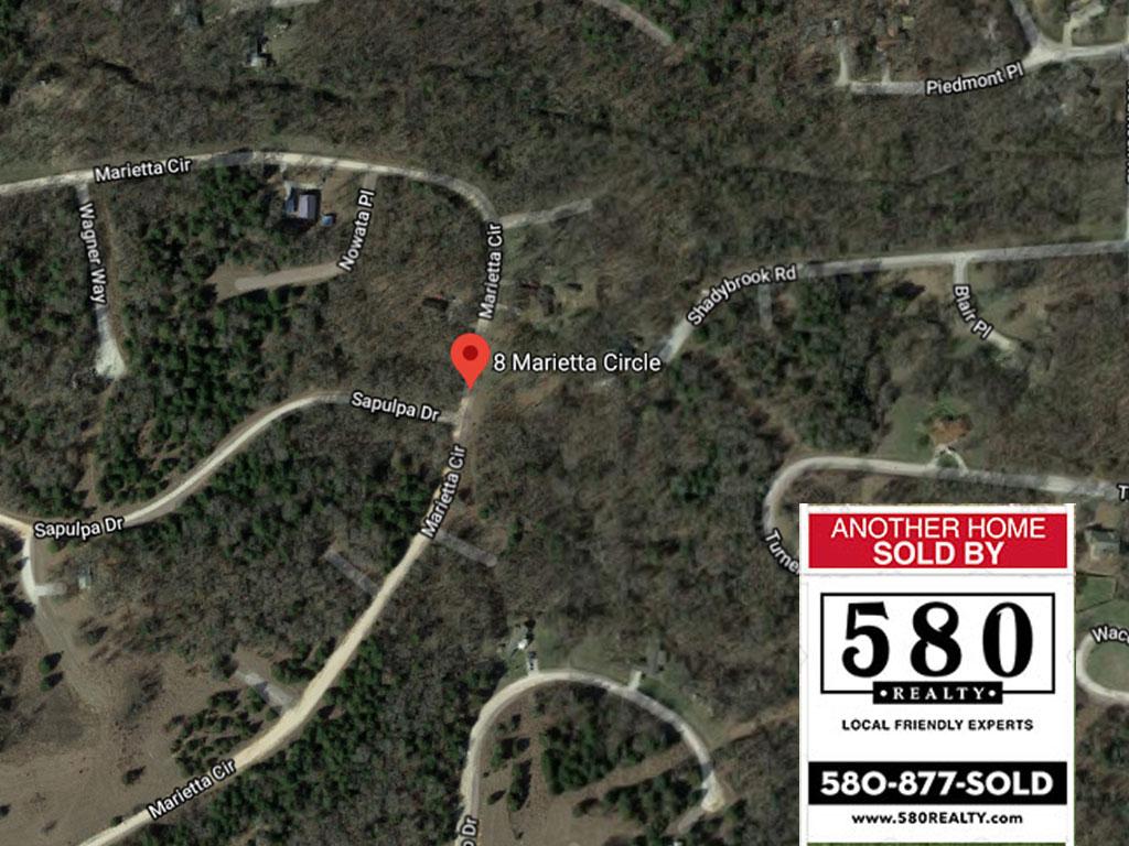 SOLD - 8 S Marietta Circle Burneyville OK 73430