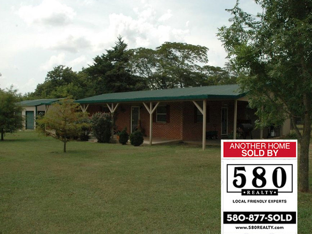 SOLD - 18650 County Road 1705 Stonewall OK 74871