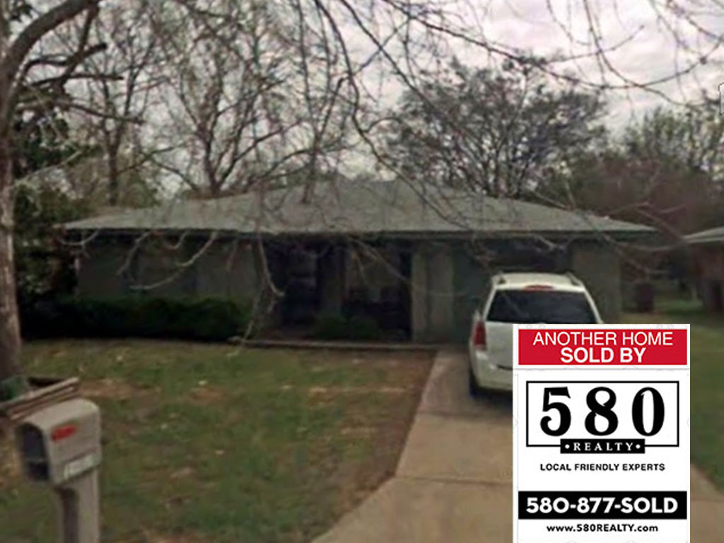 SOLD - 1608 N 10th Ave Durant OK 74701