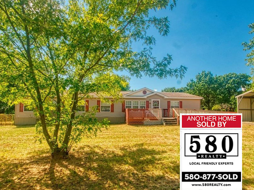 SOLD - 311 Third Ave Cartwright OK 74731