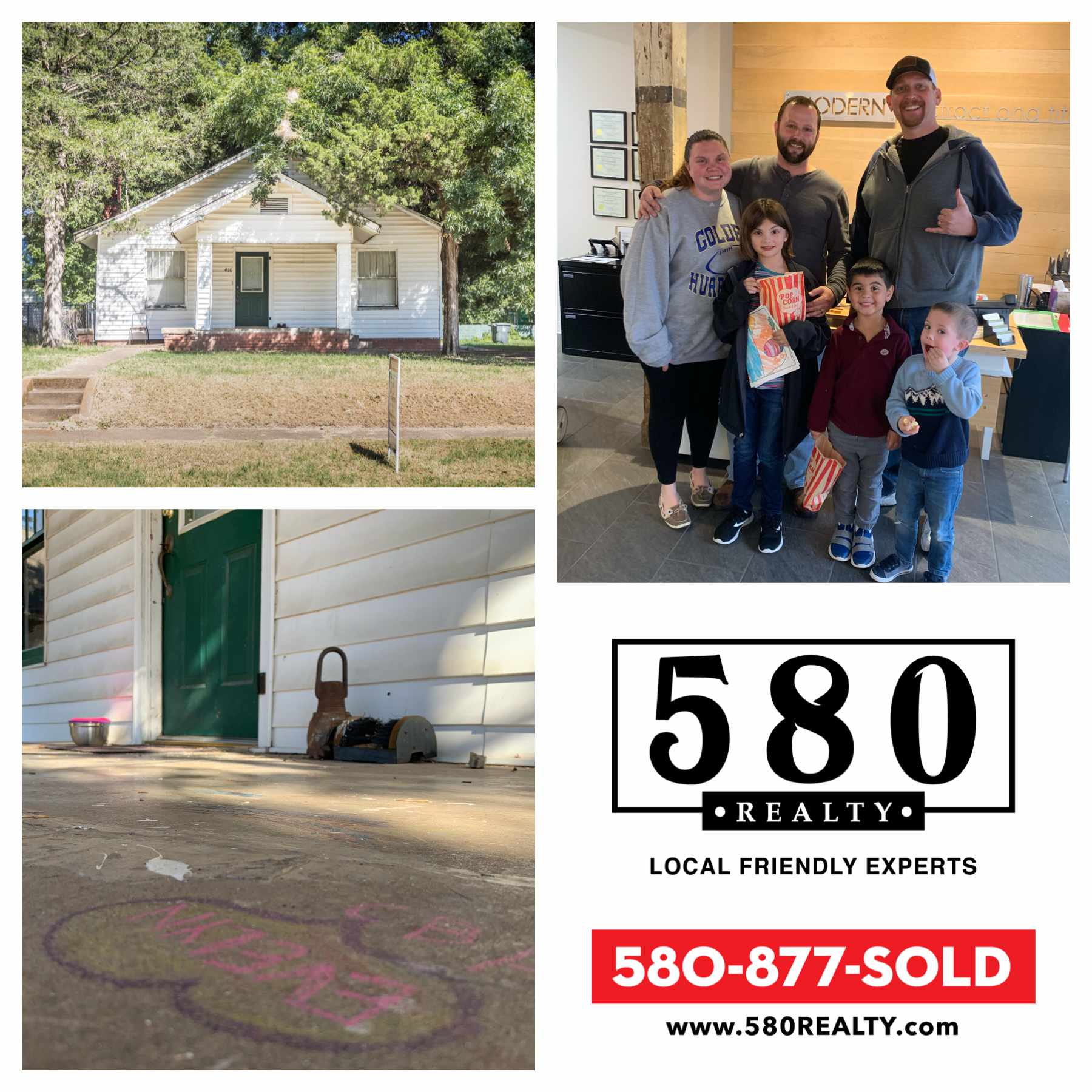 SOLD - 416 N 4th Ave Cartwright OK 74731