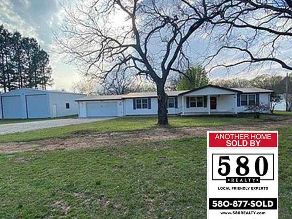SOLD 5095 Shay Rd Kingston Oklahoma 73439