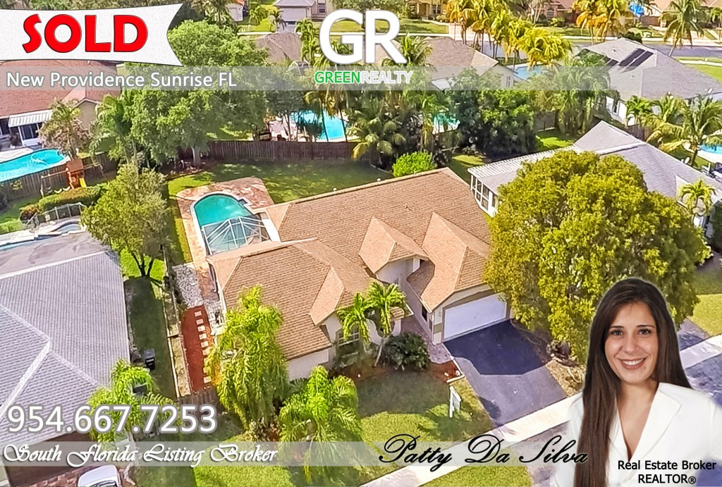 sold 1135 SW 149th Ter Sunrise, FL 33326