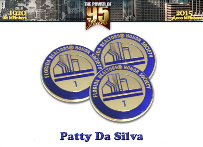 Florida-Realtors®-Awardee Patty Da Silva