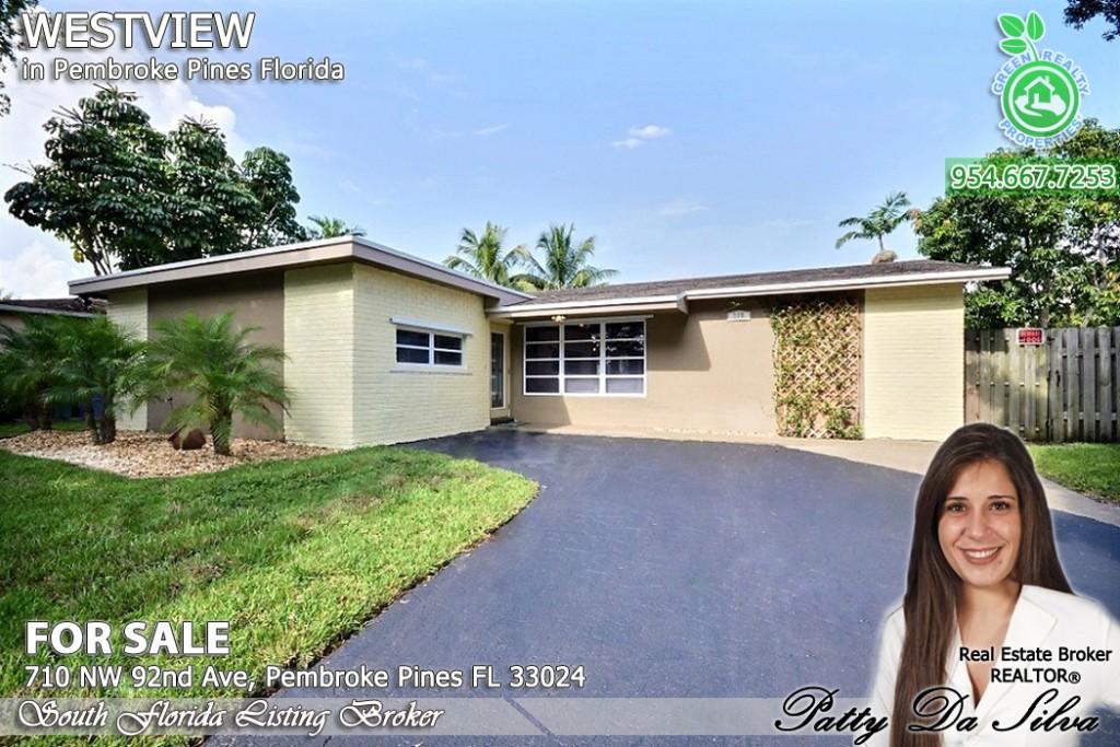 Pembroke Pines Realtor, Pembroke Pines Real Estate Agent, Pembroke Pines Homes, Pembroke Pines Real Estate, Westview homes