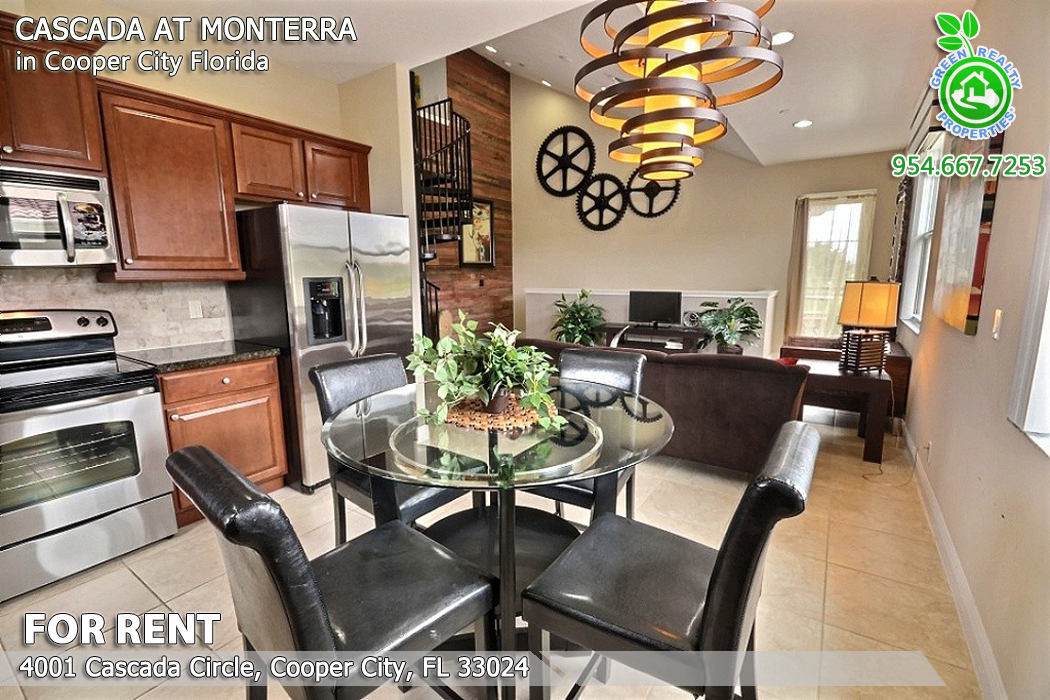For Rent Cascada At Monterra Cooper City Townhome