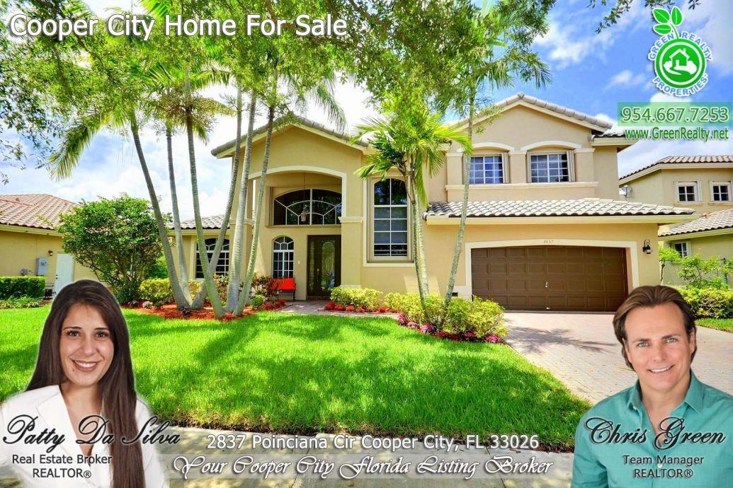 Amazing Pool Home at Gated Poinciana in Cooper City FL
