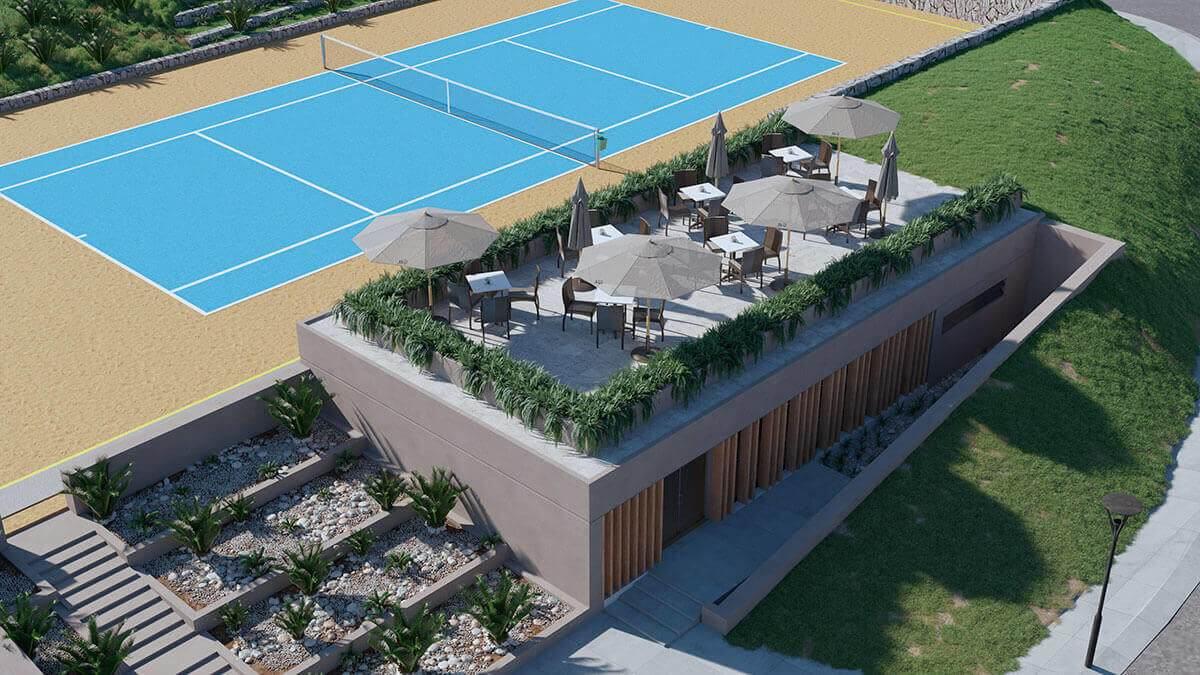 arcomar tennis court