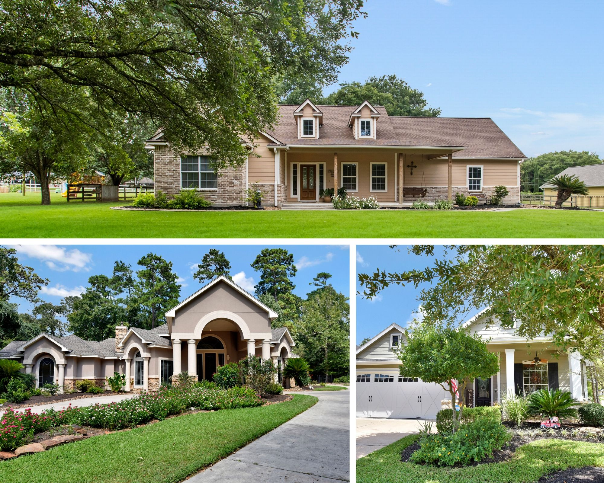 Types of homes in Tomball
