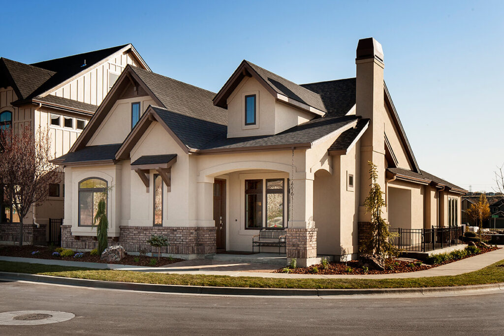 A picture of a new home by Brighton Homes. Picture by Build-Idaho