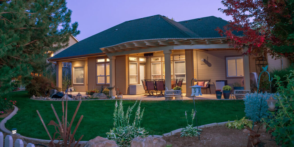 susnset picture of a home for sale in Boise Idaho
