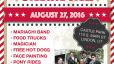 Red Bash 2016 Postcard