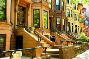 Luxury homes on Rittenhouse Square