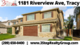 ⏰ Listing Alert 🏡 1181 Riverview Ave, Tracy 😍