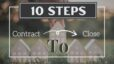 10 Steps for a Buyer from Contract to Closing