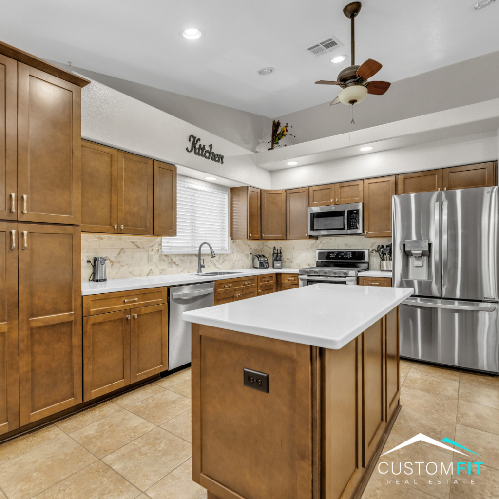 Home for sale in Las Vegas, Nevada located at 5029 Chambliss. Listed by Mindy Peterson of Custom Fit Real Estate Group.