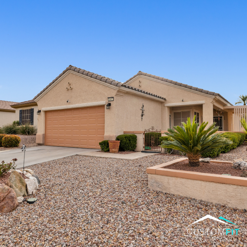 Home for Sale in Henderson, Nevada. Within the +55 community of Sun City Anthem, this home is located at 1437 Bonner Springs Drive. Listing presented by Mindy Peterson of Custom Fit Real Estate.