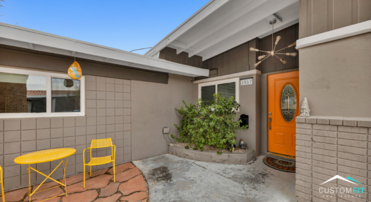 Mid-century modern home for sale in Las Vegas, Nevada.