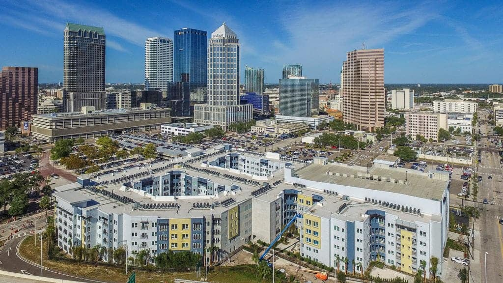 Places to live in Downtown Tampa Aurora-Apartments