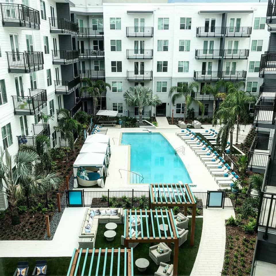 Places to live in Downtown Tampa Novel-Riverwalk