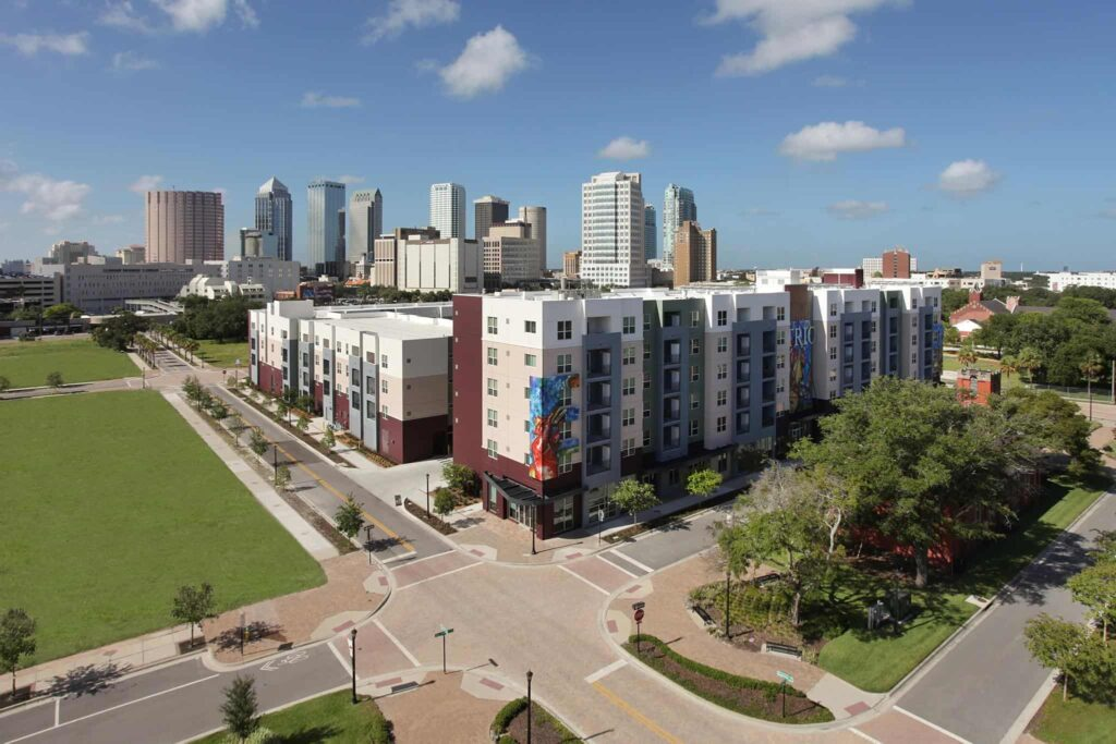 Places to live in Downtown Tampa Trio-at-Encore