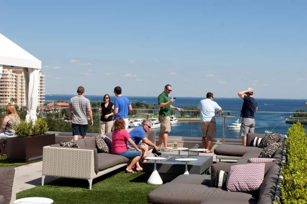 Tampa Bay Rooftop Bars
