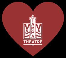 Tampa Theatre heart logo