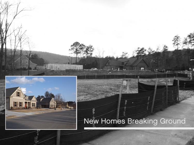 new homes breaking ground