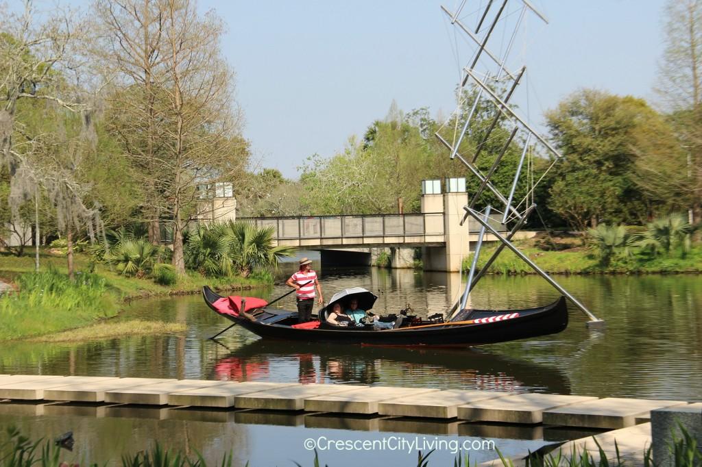 Gondola ride in City Park