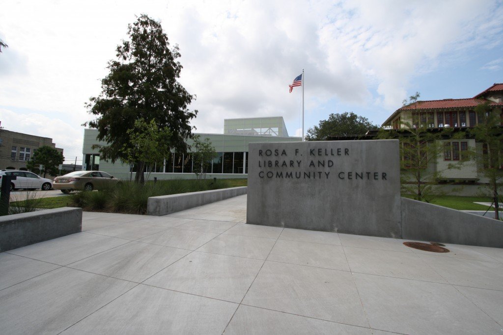 Broadmoor | New Orleans library
