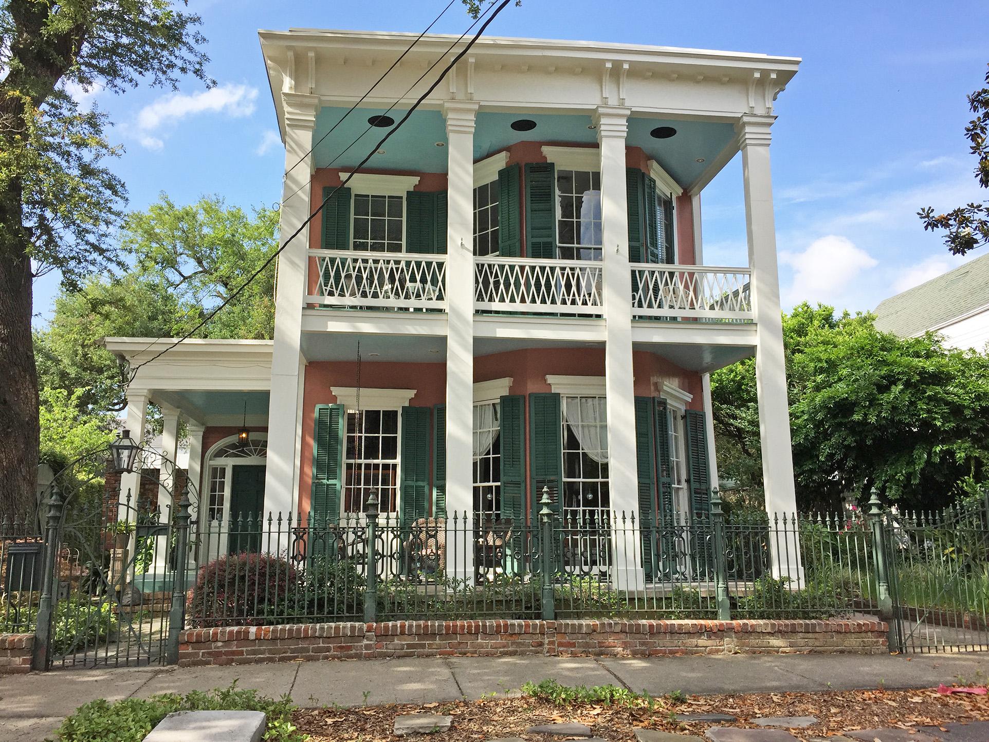 Garden District New Orleans Real Estate