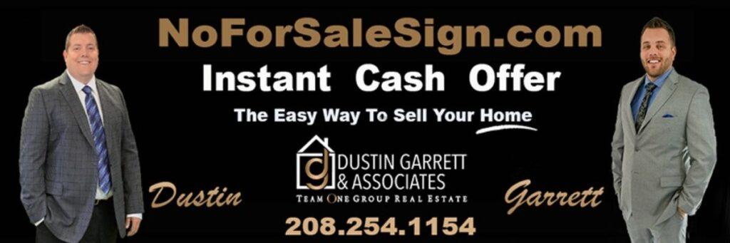 Instant Home Offer Garrett Dustin
