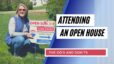 do's and Don'ts of attending and open house