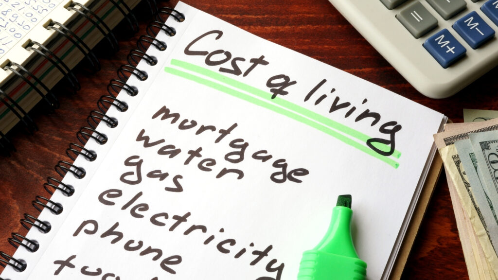 moving to find lower cost of living