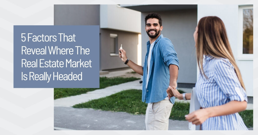 Couple purchases a home in the current real estate market